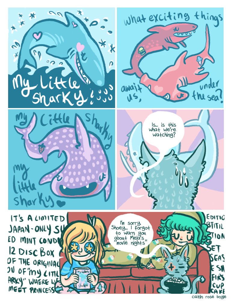 "Guest comic: ""My Little Sharky"" by Caitlin Rose Boyle"