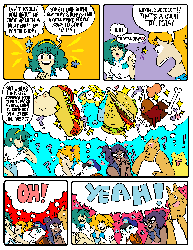 """Guest Comic: """"Shoey's Summer Slam"""" by Emely Barroso (part 2/5)"""
